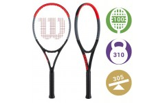 Теннисная ракетка Wilson Clash 100 Tour