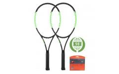 Комплект из 2-х теннисных ракеток Wilson Blade 98S