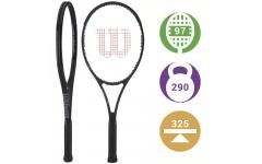 Теннисная ракетка Wilson Pro Staff 97 LS Black 2017