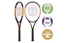 Теннисная ракетка Wilson Burn 100 S 2019