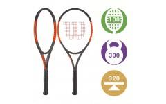 Теннисная ракетка Wilson Burn 100 S CV