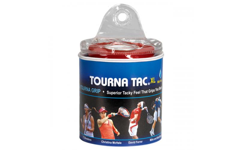 UNIQUE Tourna Tac<br />(чёрная, голубая , белая, розовая) 30 намоток в 2 бобинах - Аксессуары для тенниса UNIQUE - купить